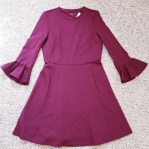 Kate Spade Ruffle Sleeve Dress